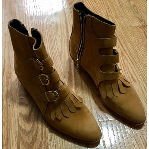 Modern vice Jett suede size 7 made in nyc